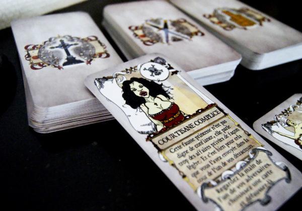 Borgia le jeu malsain © Les Chiens de l'Enfer