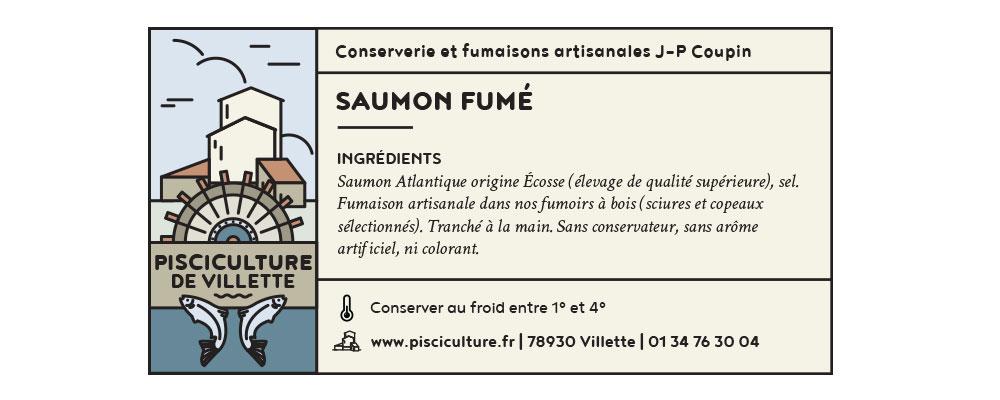 Charte graphique © Pisciculture de Villette