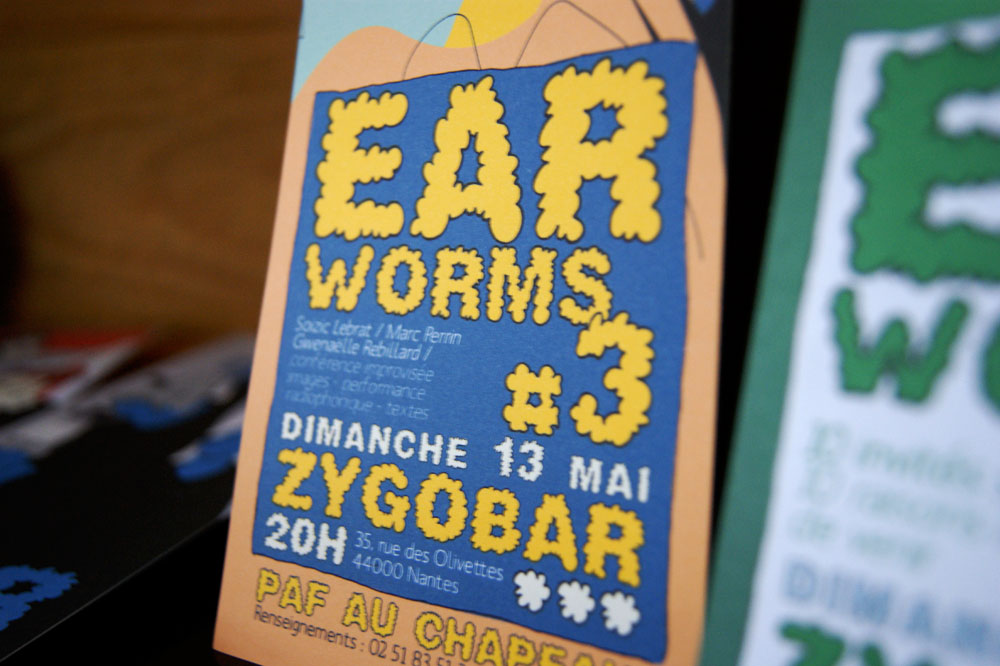 Illustration Earworms © Aurélien Biard