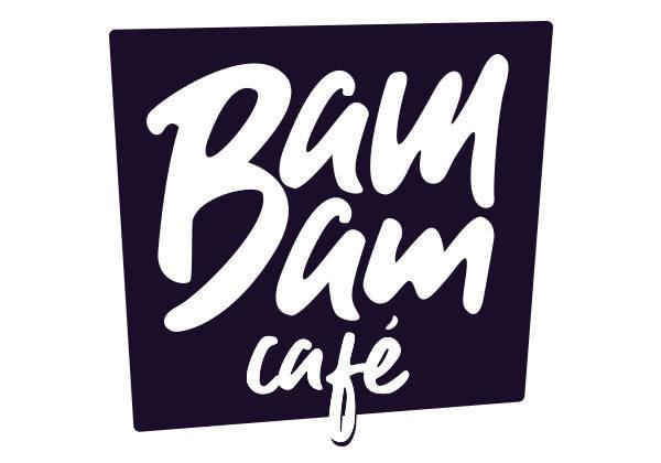 Logo cartouche © Bam Bam Café
