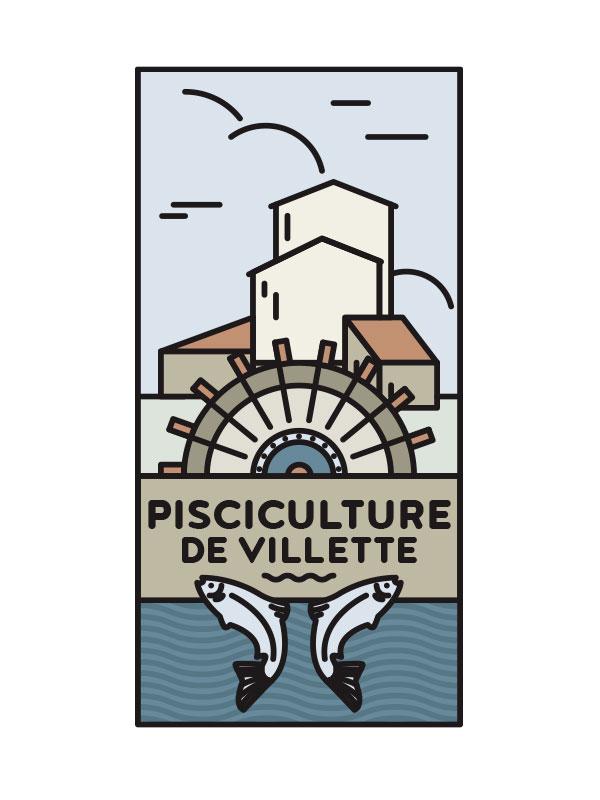 Logotype © Pisciculture de Villette