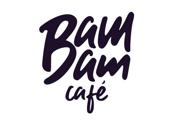 Logo typographique © Bam Bam Café